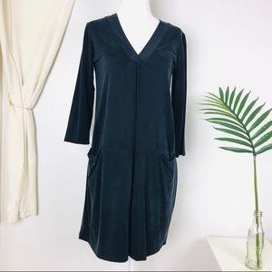 Anthro Dolan Left Coast Tegan Black Tunic Dress